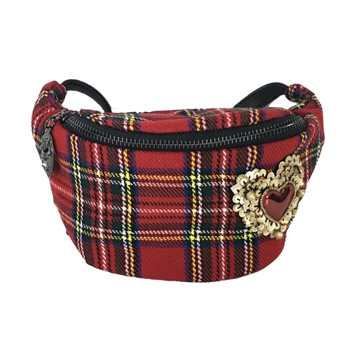 Betsey Johnson Get Waisted Fanny Pack Belt Bag