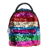 Betsey Johnson Spectrum Sequin Micro Mini Backpack