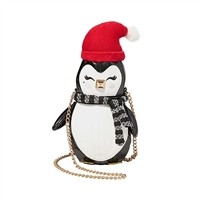 Betsey Johnson Penguino Cozy Penguin Crossbody