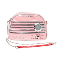 Betsey Johnson Vintage Radio Waves Crossbody w Wireless Speaker