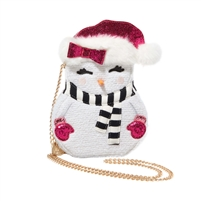 Betsey Johnson Snogal Snow Girl Crossbody