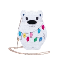 Betsey Johnson Snow Bear (Lights Up) Crossbody