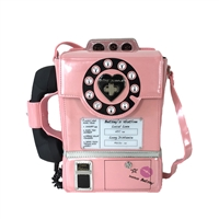 Betsey Johnson Betsey's Hotline Kitsch Pay Phone (Works!) Crossbody,