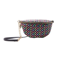 Betsey Johnson Heart on My Sleeve Fanny Pack Belt Bag