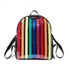 Betsey Johnson Spotted In Stripes Prisma Large Backpack