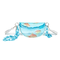 Betsey Johnson So-Fish-Tocated Goldfish Fanny Pack