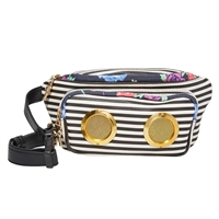 Betsey Johnson Speak Up Belt Bag w Speakers