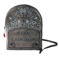 Betsey Johnson Tomb Much Fun Tombstone Crossbody