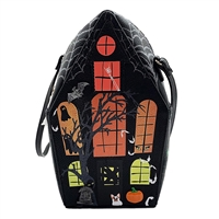 Betsey Johnson Scary Stories Glow In Dark Haunted House Crossbody
