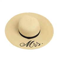 Blu by Betsey Johnson Mrs. Floppy Pom Sun Hat