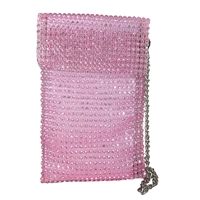 Alex Max Gala Crystal Mesh Phone Crossbody