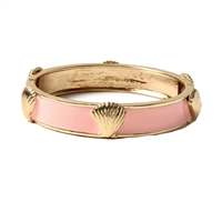 Amrita Singh Seashell Enamel Bangle Bracelet