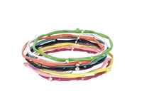 Amrita Singh Gene Colorful Bangle Bracelet Set