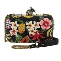 Mary Frances Fruitful Life Pineapple Convertible Box Bag