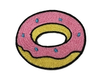 Melie Bianco Donut Embroidered Patch Sticker