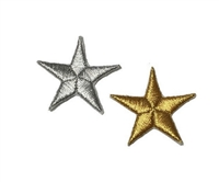 Melie Bianco Stars Embroidered Patch Sticker