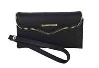 Rebecca Minkoff Leather iPhone Folio Wristlet Case