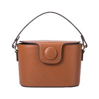 Melie Bianco Adelynn Vegan Leather Box Crossbody Bag