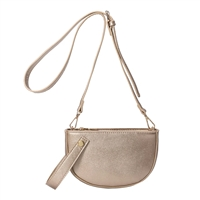 Melie Bianco Renee 2 in 1 Vegan Leather Wristlet Crossbody Bag