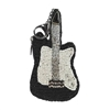 Mary Frances Electrifying Guitar Beaded Zip Coin Purse/FOB