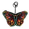 Mary Frances Beauty Butterfly Beaded Zip Coin Purse/FOB