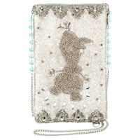 Mary Frances Disney Frozen 2 Olaf Ice Breaker Beaded Phone Crossbody