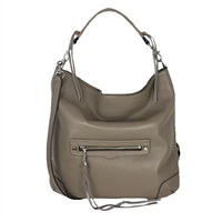 Rebecca Minkoff Reagan Leather Hobo Shoulder Bag