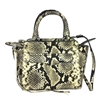 Rebecca Minkoff Avery Mini Tote Snake Embossed Leather Bag