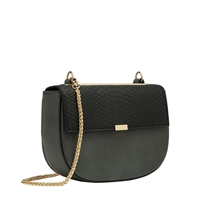 Melie Bianco Iris Vegan Leather Round Crossbody