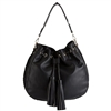 Melie Bianco Cyprus Vegan Leather Tassel Hobo