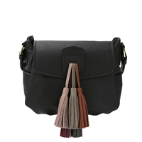 Melie Bianco Tennessee Vegan Leather Tassel Crossbody