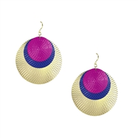 Amrita Singh Solita Circles Drop Earrings