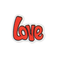 Zad Love Iron On Patch Applique