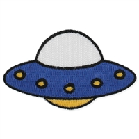 Zad UFO Iron On Patch Applique