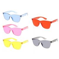 5763a0fd816 Sim Modern Pantone Lens Square Rimless Sunglasses