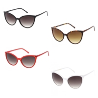 Nora 55mm Retro Cat Eye Sunglasses