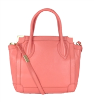 Foley Corinna Framed Leather Mini Shopper
