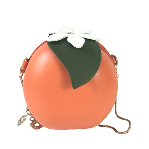 Fashion Culture Orange Blossom Round Crossbody