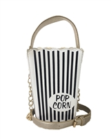 Fashion Couture Retro Movie Popcorn Bucket Bag