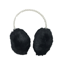 Fashion Culture Audrey Faux Pearl Earmuffs