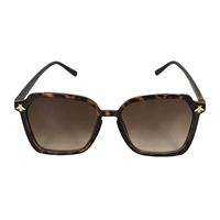 Fashion Culture Bee-Loved Bee Charm  Square Sunglasses