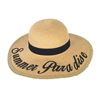 Fashion Culture 'Summer Paradise' Floppy Sun Hat