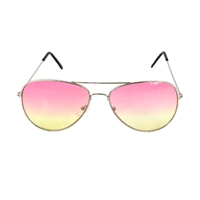 Ombre Dreams 60 mm Aviator Sunglasses