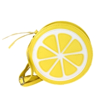 Fashion Culture Squirt Lemon Slice Crossbody,