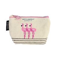 Fashion Culture Dancing Flamingo Flock Coin Purse