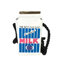 Fashion Culture Kitch Milk Carton Crossbody