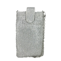 Halle Crystal Encrusted Phone Crossbody Bag