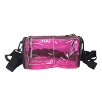 Transparent Game Day Stadium Event Crossbody