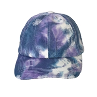 Fashion Culture Tie Dye Distressed Hat Baseball Cap