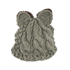 Fashion Culture Critter Chunky Knit Beanie Hat